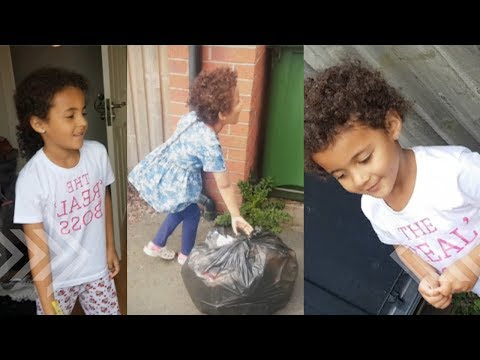 How To Save Space in The Bin | Aku  And Afia Bin Challenge | The Bin Challenge - UCeaG5HcexylrNi9v9FxE47g