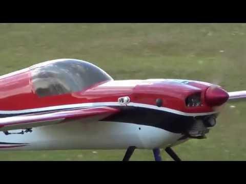 Hobbyking slick 540 30-35cc with a DA 50cc engine in it, maiden flight - UC7EU2RzNdiXdgOKfuMrG_LQ