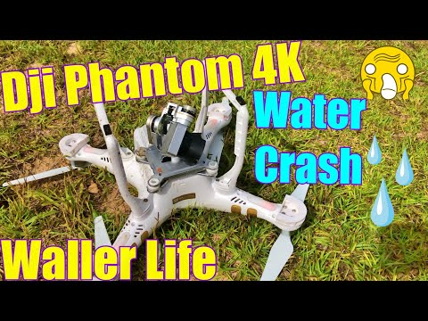 Submerged My DJI Phantom 3 4K Drone. Rescue and Repair after being in water 💧2019