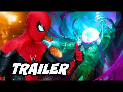 Spider-Man Far From Home Trailer Breakdown and Comic Con Panel - UCDiFRMQWpcp8_KD4vwIVicw