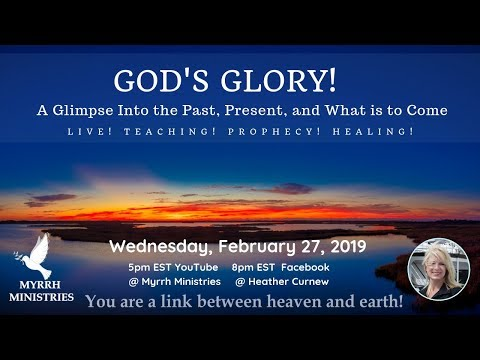 God's Glory - A Glimpse Into: The Past, Present and What is to Come- fast forward  to 8.20 for sound