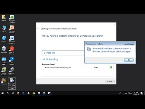 How to Fix Cannot Install or Uninstall Program/Software in Windows 10/8/7