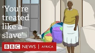 'My life as a Zimbabwean domestic worker' - BBC Africa
