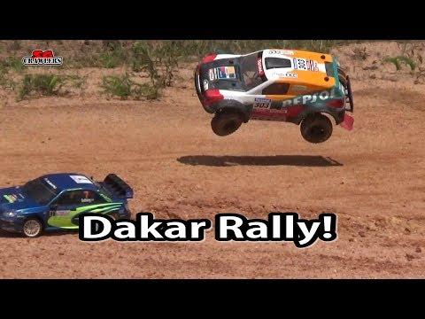 Traxxas Slash SCT with beautifully painted Repsol team Dakar Rally body! - UCfrs2WW2Qb0bvlD2RmKKsyw