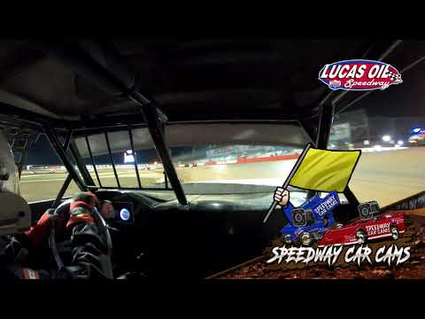 #21p Darren Phillips - Usra Stock Car - 8-21-2021 Lucas Oil Speedway - In Car Camera - dirt track racing video image