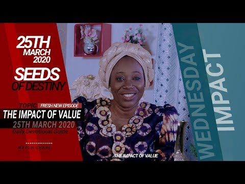 Dr Becky Paul-Enenche - SEEDS OF DESTINY  25TH MARCH 2020