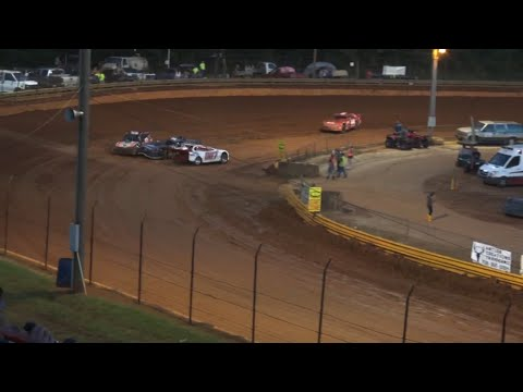 Modified Street at Lavonia Speedway July 2nd 2021 - dirt track racing video image