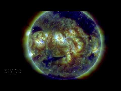 'Anxious Face' On Sun is 2 Active Regions and A Coronal Hole | Video - UCVTomc35agH1SM6kCKzwW_g