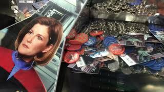 Dave & Busters Arcade Denver - Star Trek Coin Pusher - More Alien Cards