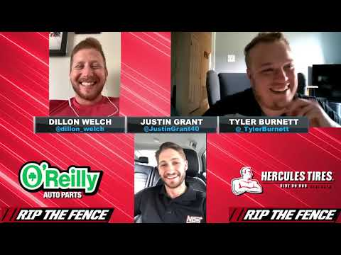 Rip the Fence - Justin Grant  USAC racer Justin Grant Racing joins Dillon Welch and Tyler Burnett this week. - dirt track racing video image