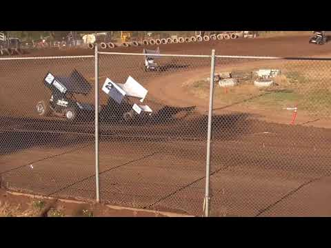 Cottage Grove Speedway Western Sprint Tour Speedweek Night #4 July 16th, 2021 - dirt track racing video image
