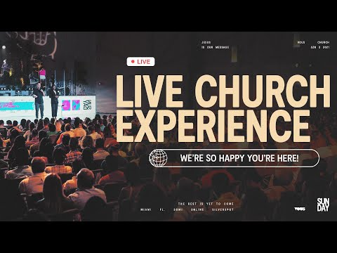 Join us LIVE at VOUS Church  Sunday Service - April 25th, 2021 at 2PM