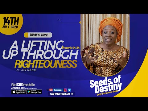 Dr Becky Paul-Enenche - SEEDS OF DESTINY - TUESDAY JULY 14, 2020