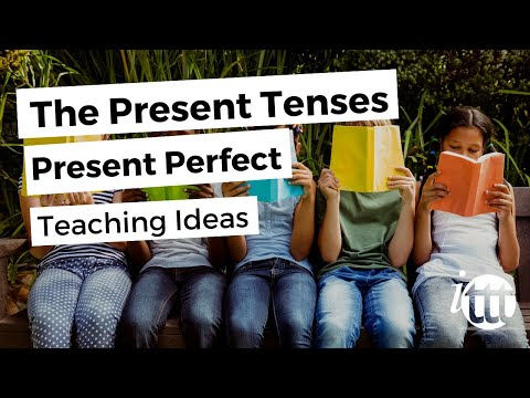 English Grammar -- Present Perfect -- Teaching Ideas 2 -