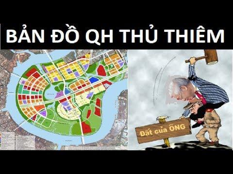 Ai chỉ đạo thủ tiêu bản đồ quy hoạch Thủ Thiêm ?