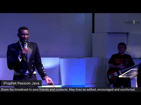 Sunday Morning Sunday with Prophet Passion Java!