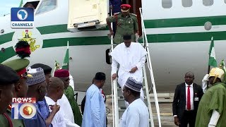 President Buhari Returns To Abuja