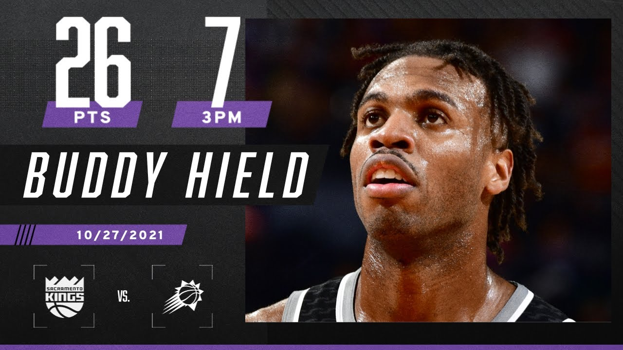 Buddy Hield lights up the Suns for 26 PTS in road W
