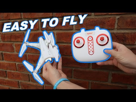 Possibly The Best Beginner Drone of 2019 Under $100 - Syma Z3 Position Hold Folding - TheRcSaylors - UCYWhRC3xtD_acDIZdr53huA