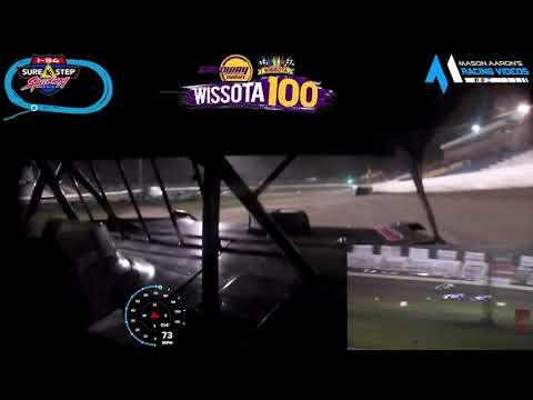 #17 Mike Greseth WISSOTA Late Model On-Board @ WISSOTA 100 (9/17/21) - dirt track racing video image