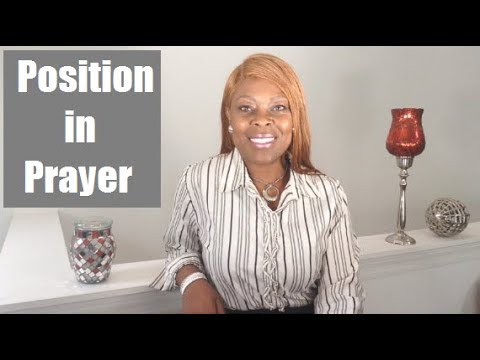 Position in Prayer