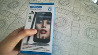 Unboxing Brondi 730 4G HD - Unpacking Brondi 730 4G HD