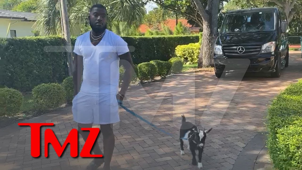 Ray J Buys a Goat to Celebrate Earbud Sales Milestone