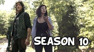 The Walking Dead Season 10 'Gabriel's Helicopter Secret & Michonne's Departure Episode' Q&A