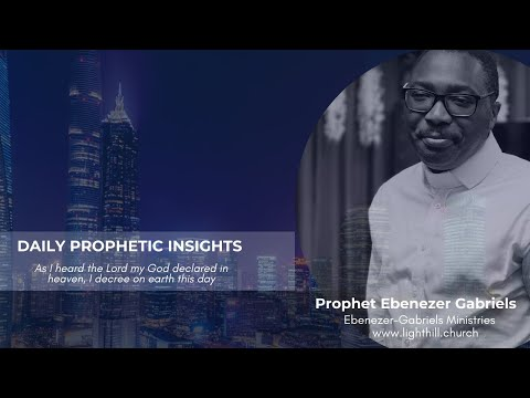 Prophetic Insight for the Week - June 13, 2021
