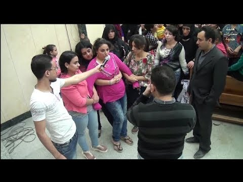 Muslim jinn(satan) cast out in Jesus Name @ Egyptian Church