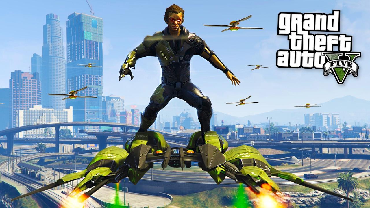 ULTRA REALISTIC GREEN GOBLIN MOD!! (GTA 5 Mods) | FpvRacer lt