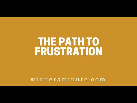 The Path to Frustration // The Winner's Minute With Mac Hammond
