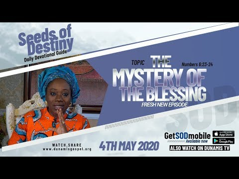 Dr Becky Paul-Enenche - SEEDS OF DESTINY  MONDAY, 04 MAY, 2020