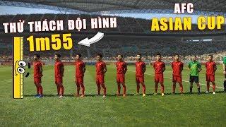 PES19 | ASIAN CUP | VIETNAM vs ARABIA - Thử thách bóng đá sử dụng đội hình thấp nhât 1m55 (15/2 )