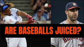 Why So Many Home Runs Are Hit In Baseball. Baseballs Are Not Juiced. Justin Verlander