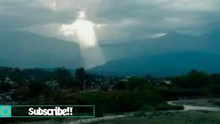 Christ like figure appears in clouds over Argentina sparking religious frenzy