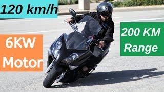 200KM Range Electric Delivery MotorBike in India - Blitz 3000/6000