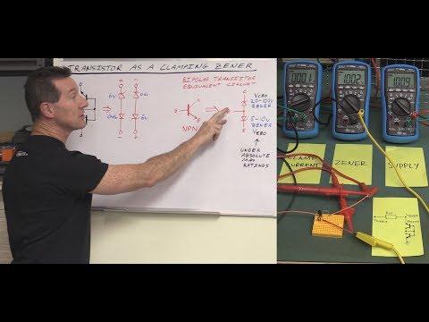 EEVblog #1157 - Transistor Zener Clamp Circuit - UC2DjFE7Xf11URZqWBigcVOQ