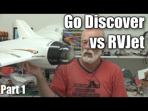 Go Discover versus RVJet FPV wing RC planes (part 1) - UCahqHsTaADV8MMmj2D5i1Vw