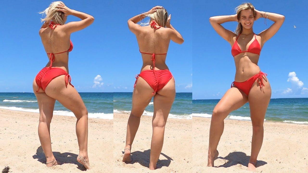 Round Booty, Fit Legs, Tone Abs Bikini Workout!