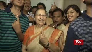 Political leaders cast vote in phase 7 Lok Sabha polls