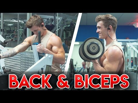 Full Back & Biceps Workout (FORM EXPLAINED!) - UCOFCwvhDoUvYcfpD7RJKQwA
