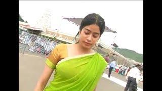 Actress Sridevi Daughter Jhanvi Visits Tirumala in Tirupathi,Vizagvision...