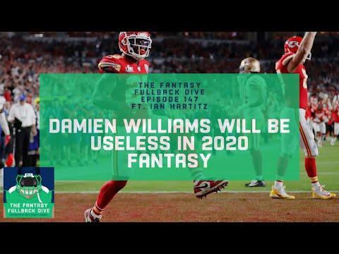 Damien Williams Will Be Useless in 2020 Fantasy   Fantasy Football Podcast