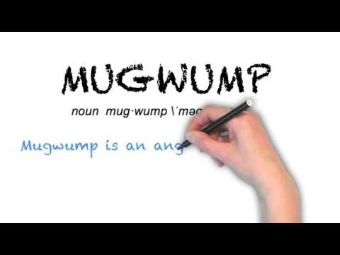 How to Pronounce 'MUGWUMP'- English Grammar