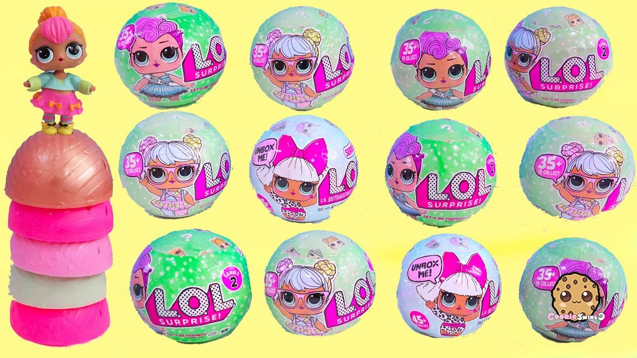 Lol Surprise Mystery Blind Bag Ball Doll Haul Cookie