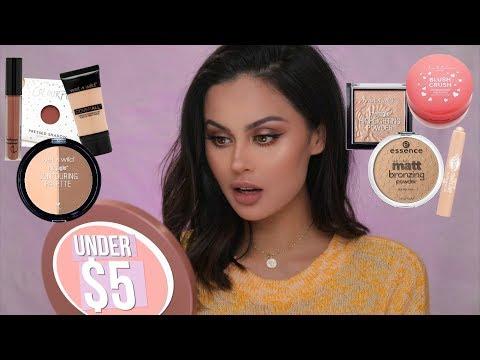 Full Face Of Drugstore Makeup Under $5 - UCXTAdFsBmxNK3_c8MUvSviQ