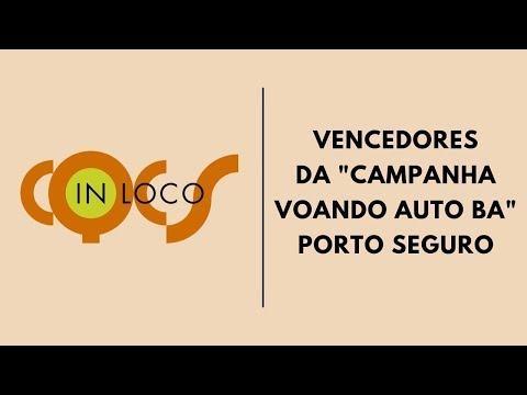 """Imagem post: Vencedores da """"Campanha Voando Auto BA"""" Porto Seguro"""