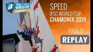 IFSC Climbing World Cup Chamonix 2019 - Speed Finals