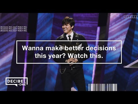 Joseph Prince - Wanna make better decisions this year? Watch this.